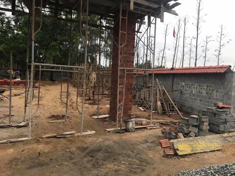 Công Trình Thi Công Biệt Thự Nhà Vườn Quảng Nam-CT02