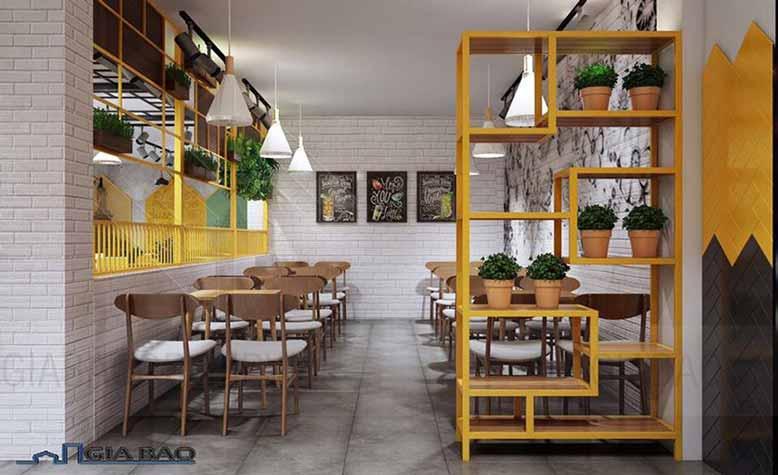 Thiết kế quán trà sữa đẹp với góc nhỏ xinh ấn tượng