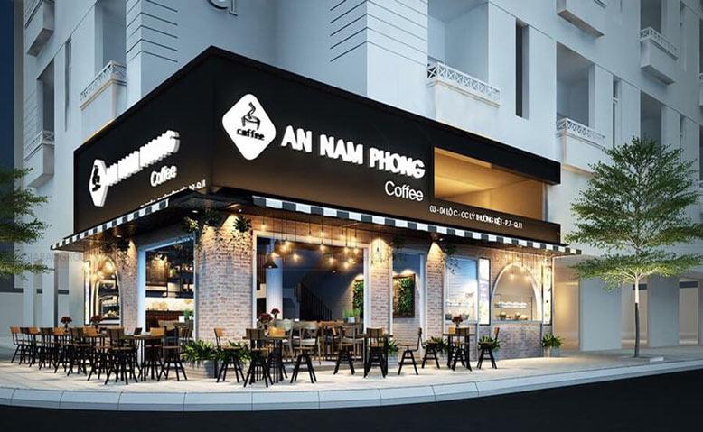 Mẫu Thiết Kế Nội Thất Quán Cafe Đẹp Nam Phong