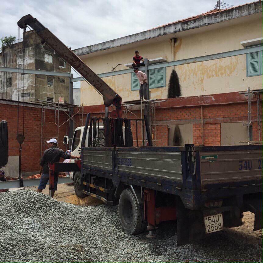 Nhà xưởng tiền chế long an