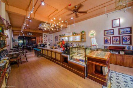 Thi công quán Coffee đẹp L'amant tại Võ Văn Tần, quận 3