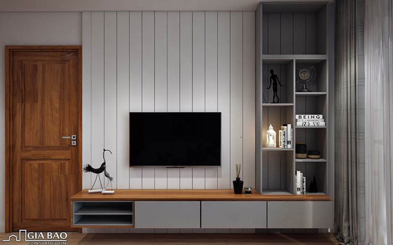 Không gian sống sang chảnh trong thiết kế nội thất căn hộ 90m2 - Chung cư Everrich