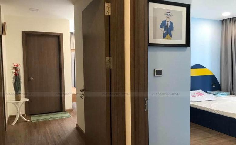 Hình ảnh các phòng ốc trong thiết kế nội thất căn hộ Vinhome Tân Cảng Park 7