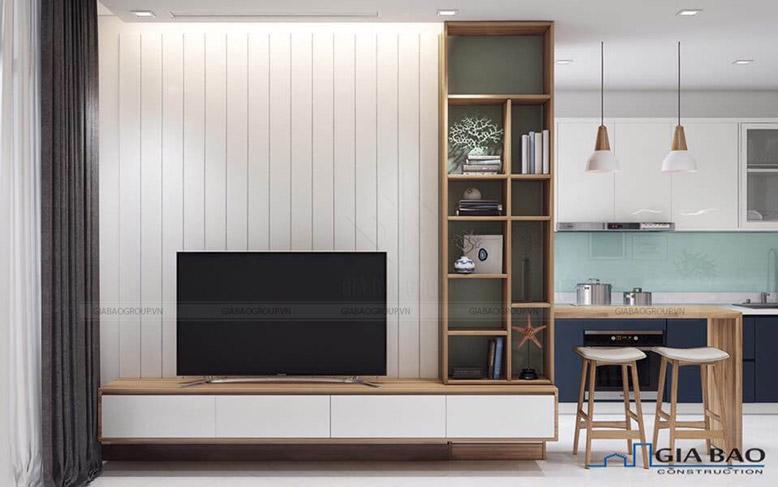 Phòng khách mang thiết kế tối giản