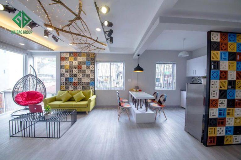 thiết kế nội thất chung cư hiện đại tại đà lạt -3
