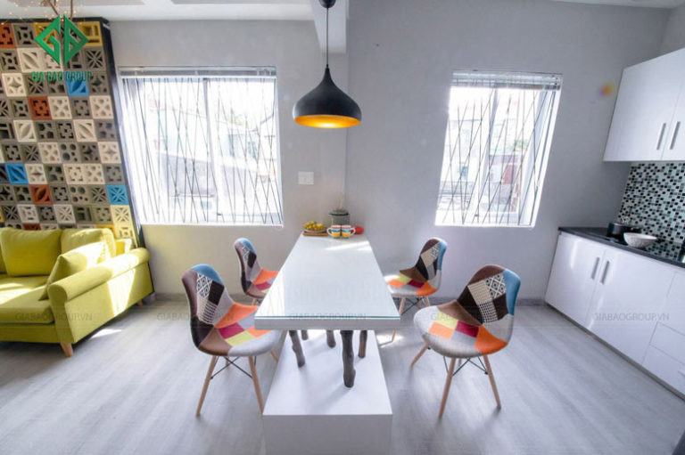 thiết kế nội thất chung cư hiện đại tại đà lạt -2