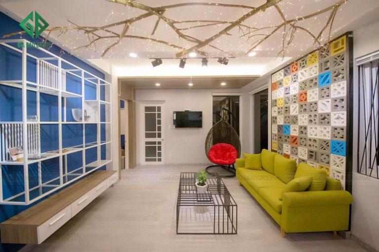 thiết kế nội thất chung cư hiện đại tại đà lạt -1