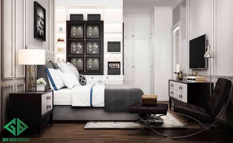 Thiết kế nội thất căn hộ chung cư cao cấp Duplex Vista cho phòng ngủ