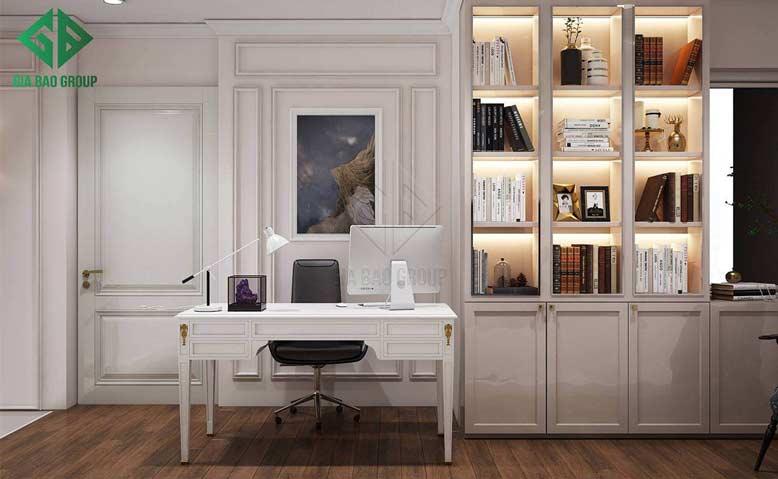 Mẫu thiết kế nội thất căn hộ chung cư Duplex phong cách tân cổ điển sang trọng