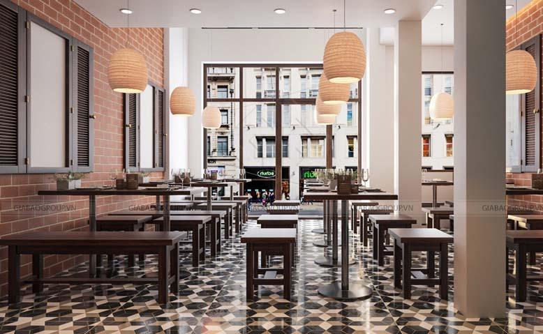 thiết kế quán ăn đẹp tại quận 3