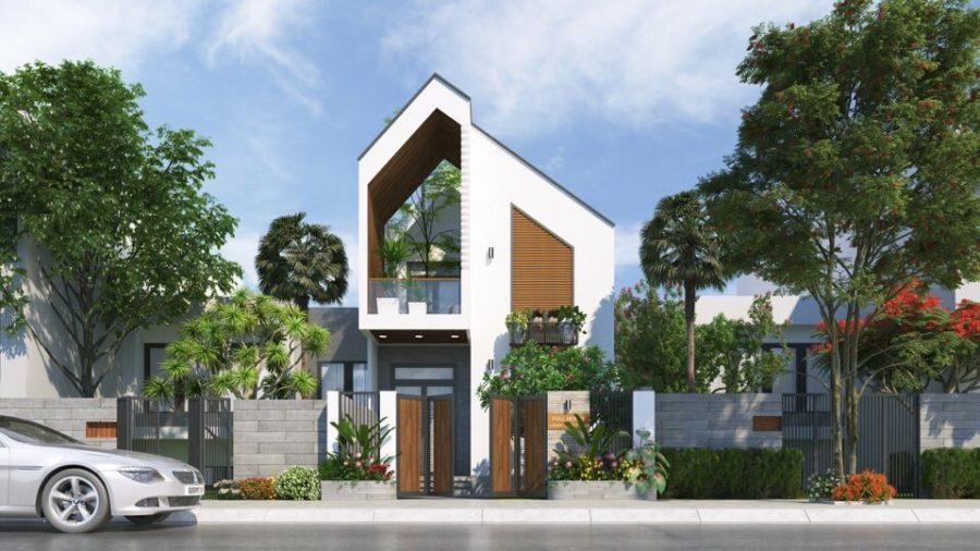 Thiết kế và Thi Công Biệt thự mini tại Lagi