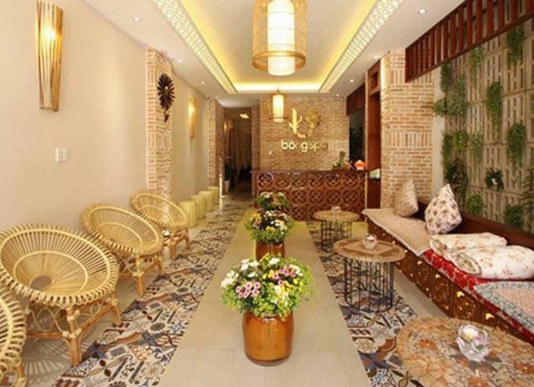 Thiết kế thi công nội thất spa mang phong cách cổ xưa