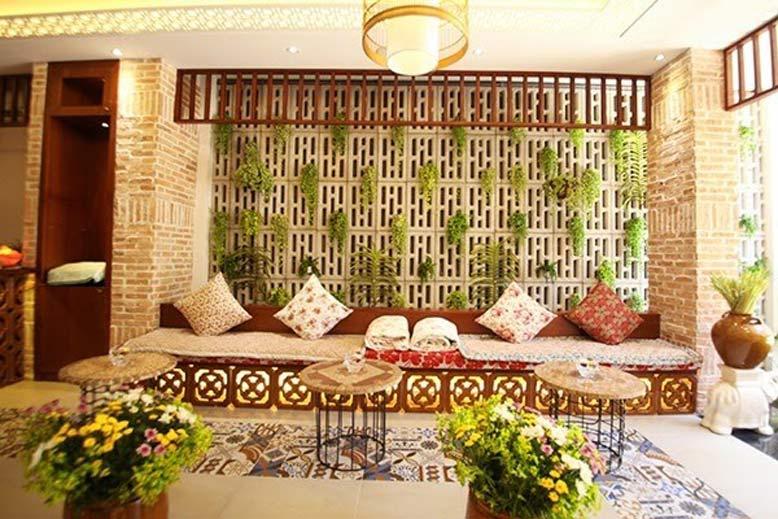 Thiết kế thi công nội thất spa đậm chất làng quê nhưng vẫn sang chảnh