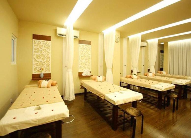 Thiết kế thi công nội thất spa tiện nghi, thư giãn cho khách hàng.