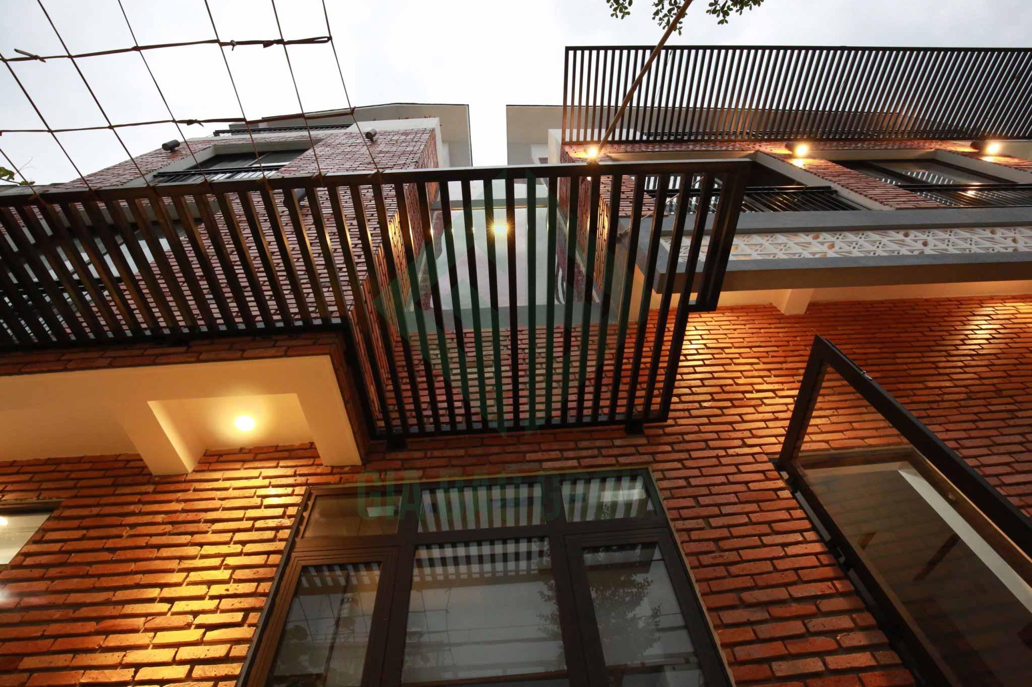 hình ảnh bên hông nhà phố 3 tầng 1