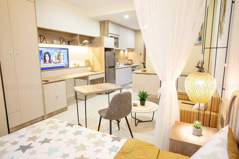 thiết kế nội thất phòng 53m2