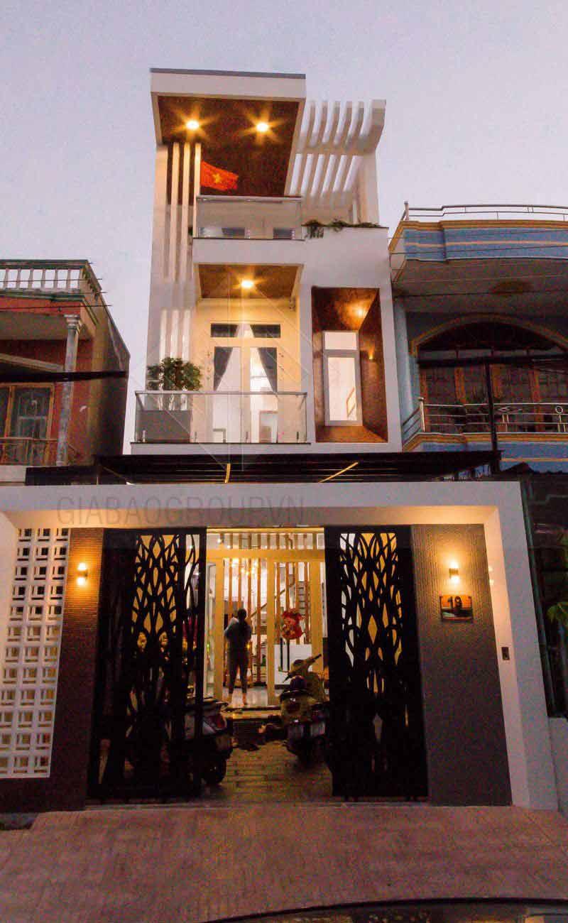 Thi công nhà phố trọn gói – Anh Minh ,Lagi Bình Thuận