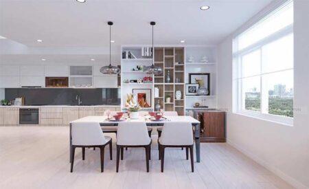 Nội thất căn hộ chung cư đẹp, hiện đại, thông minh tại Lữ Gia, quận 11