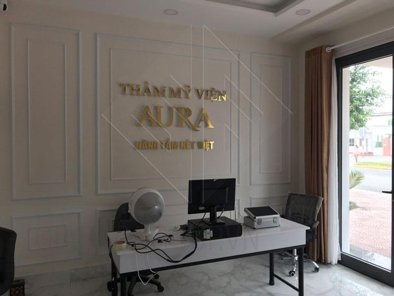Thiết kế nội thất spa Aura Vincom Vĩnh Long