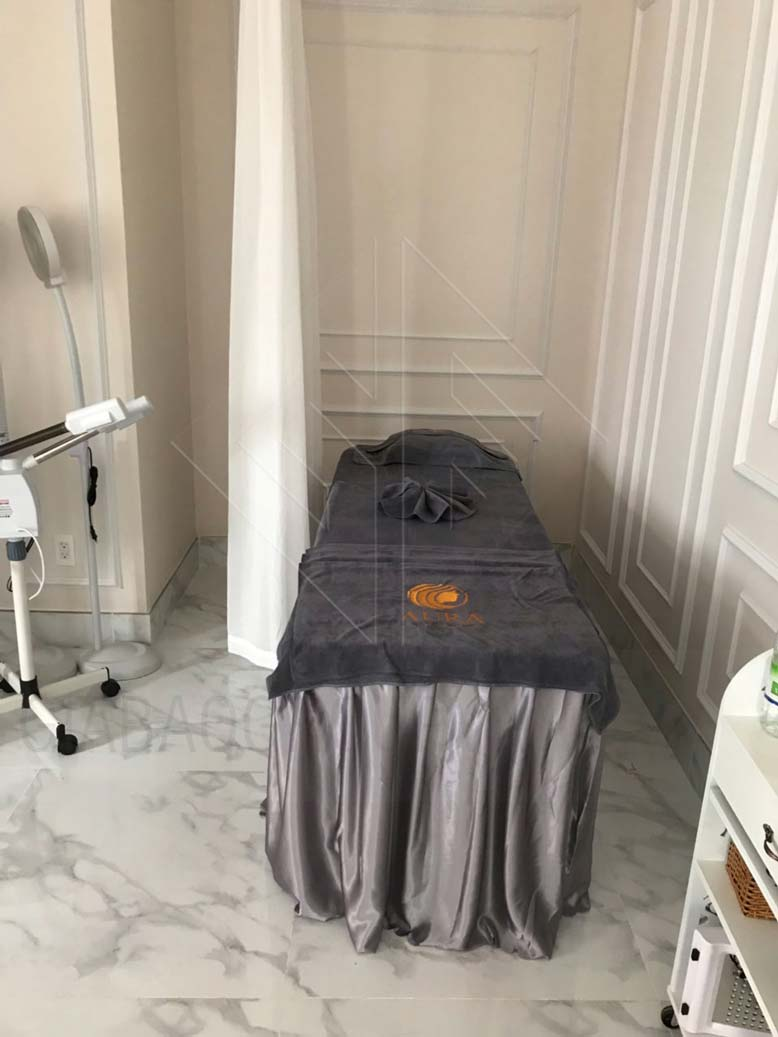 Phòng massage trong thiết kế nội thất spa
