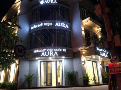 Trang trí và thiết kế nội thất Spa Aura tại Vincom Vĩnh Long
