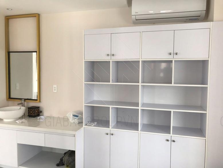Thiết kế nội thất spa cho phòng vệ sinh