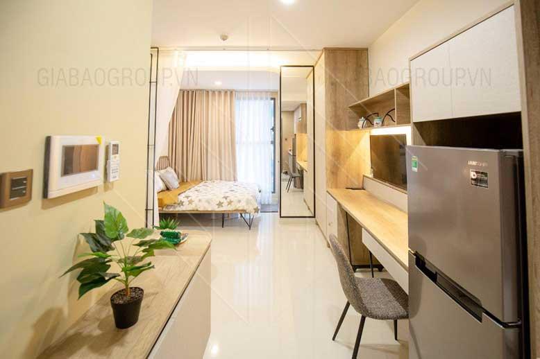 Thiết kế nội thất căn hộ 53m2 – Chị Linh, SaiGon Royal