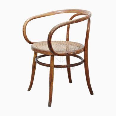 Ghế gỗ tròn tựa lưng ( GG-001 )