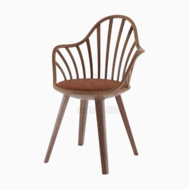 Ghế gỗ tựa lưng lót nệm ( GN-013 )