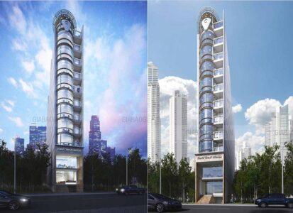Thiết kế và thi công mẫu khách sạn hiện đại 10 tầng Tony Tran