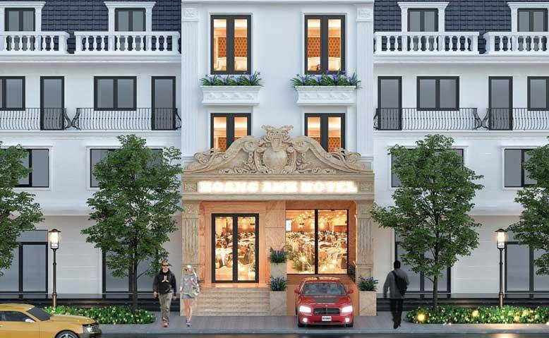 Thiết Kế Khách Sạn Hoàng Anh Tại Phan Thiết Mã KS101