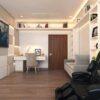 Thiết kế nội thất căn hộ chung cư đẹp hiện đại, tiện nghi