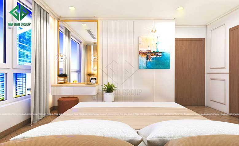 Phòng ngủ căn hộ Vinhomes