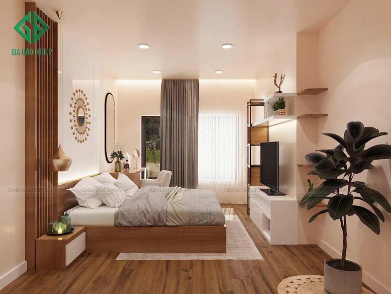 Thiết kế nội thất căn hộ Đảo Kim Cương dành cho phòng ngủ Master