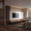 Thiết kế nội thất căn hộ chung cư Penthouse đẹp, đẳng cấp tại quận 7