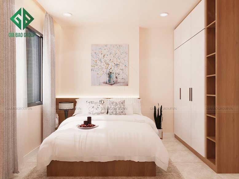 Mẫu thiết kế nội thất căn hộ Đảo Kim Cương dành cho phòng ngủ đẹp