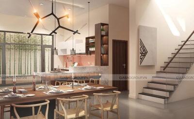 Thiết kế nội thất nhà biệt thự chuẩn phong cách hiện đại tại Long An