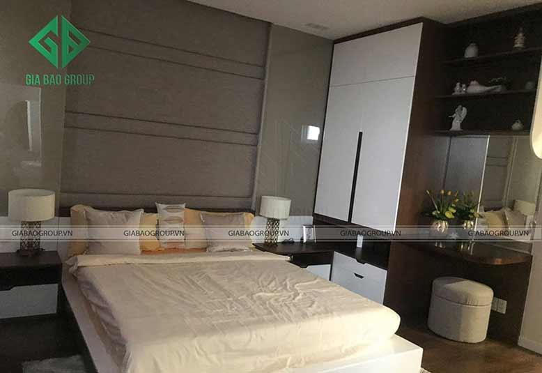 Thiết kế nội thất nhà liền kề cho phòng ngủ