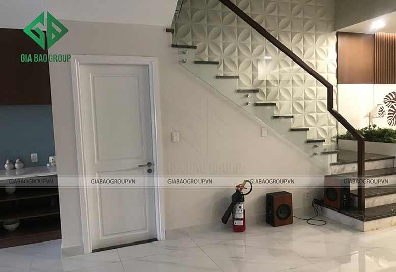 Thiết kế nội thất nhà liền kề với cầu thang