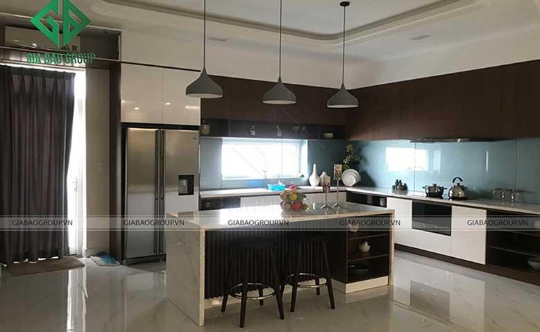 Thiết kế nội thất nhà liền kề đẹp, hiện đại tại khu Khang Điền, quận 9