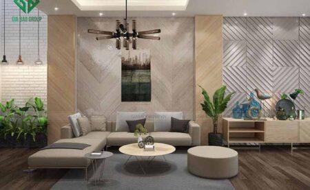 Mẫu thiết kế nội thất nhà phố hiện đại anh Tâm, KĐT Phú Mỹ Hưng