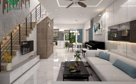 Thiết kế nội thất nhà phố Lavila phong cách hiện đại- NTNP01