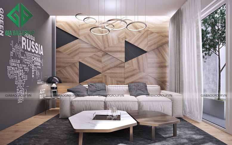 Bộ ghế sofa dáng dài thích hợp cho nội thất nhà phố
