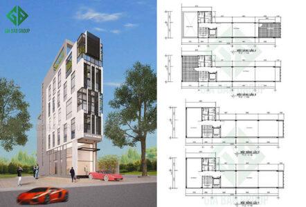 Thiết kế tòa nhà văn phòng và lợi ích của không gian làm việc lý tưởng