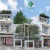 Thiết kế thi công nhà phố hiện đại cho gia đình chị Bích tại Gò Vấp