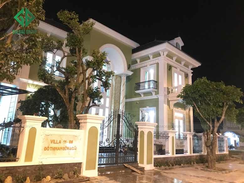 Biệt thự bán cổ điển sang trọng và đồ sộ tại TP Nha Trang.
