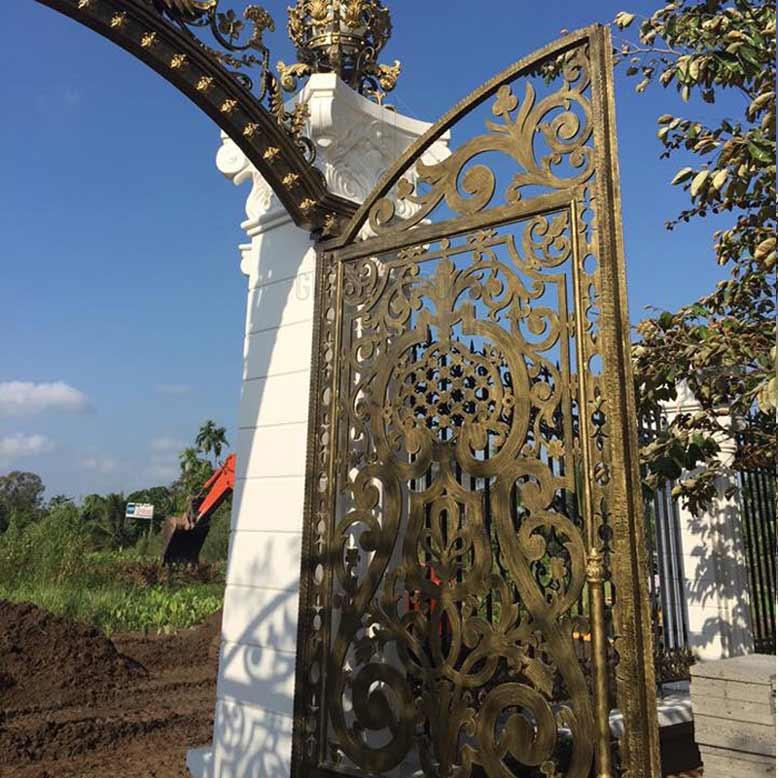 Gia Bảo Group chuyên thiết kế thi công cổng biệt thự đẹp