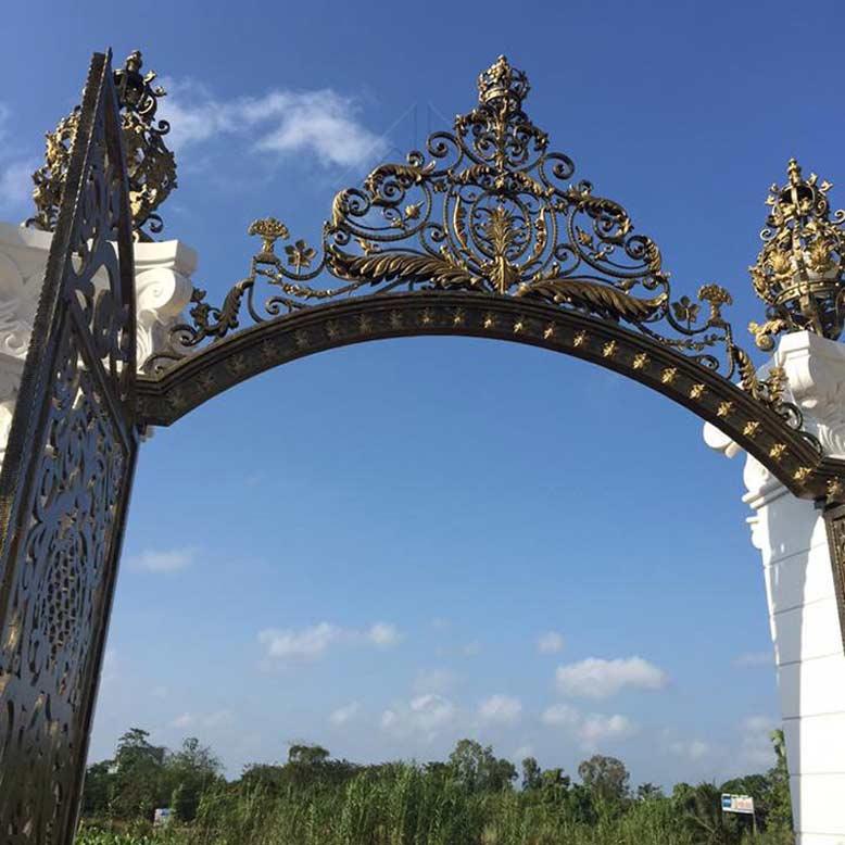 Màu sắc cổng biệt thự đẹp