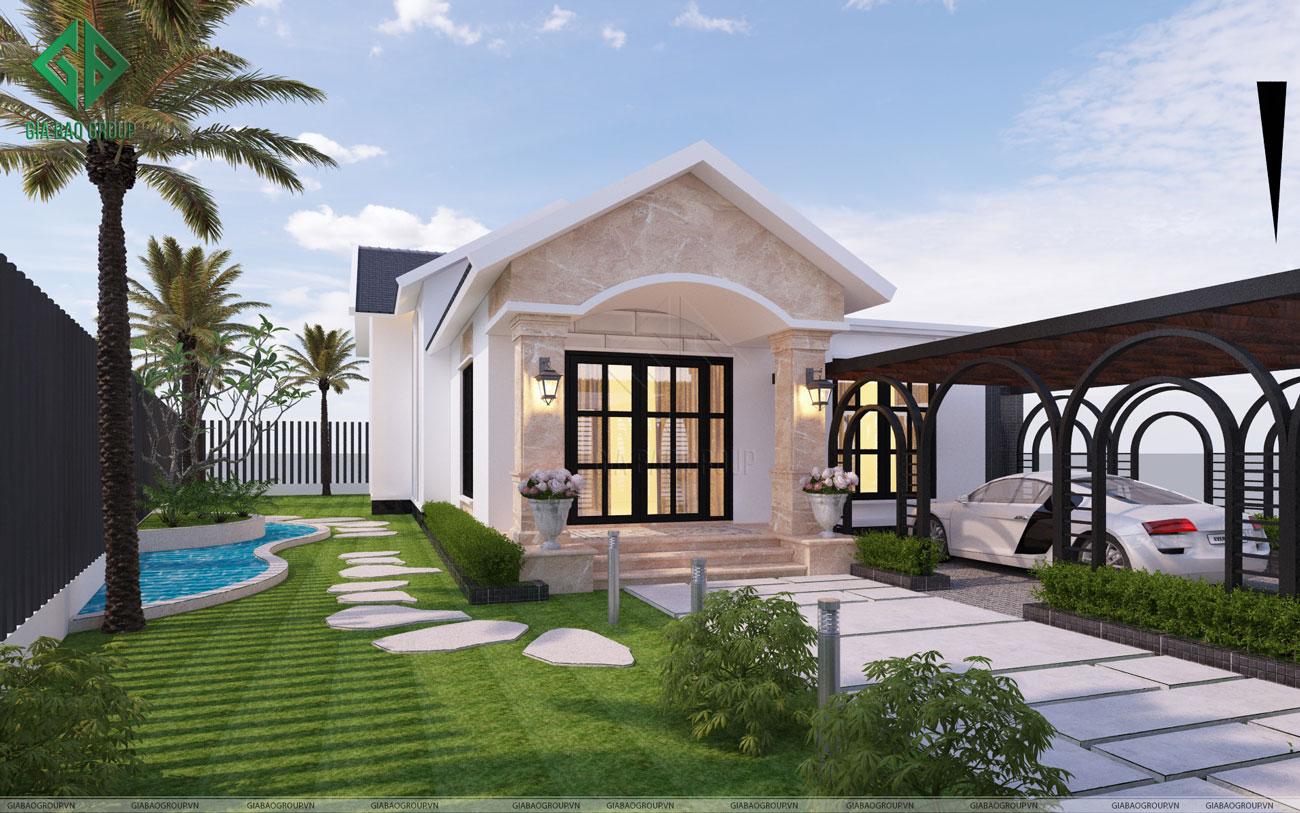 Nhà Phố Mái Thái Anh Hải DT 5x18