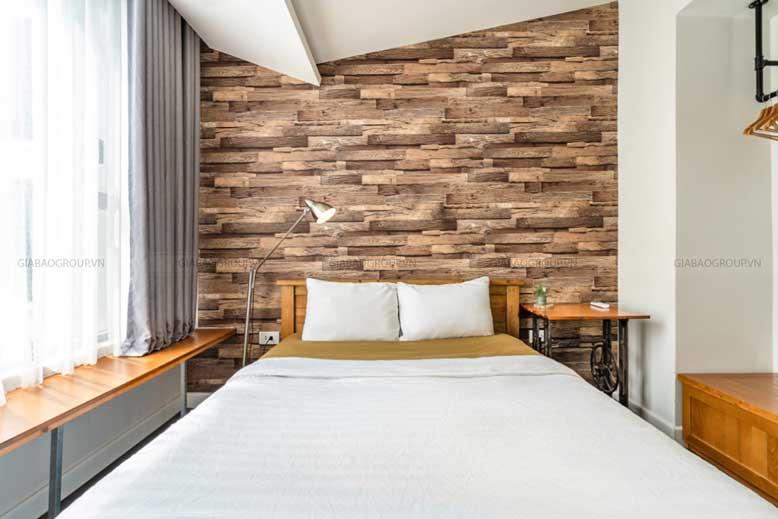 Tạo cho khách hàng sự thỏa mái khi bước vào phòng ngủ- thiết kế nội thất